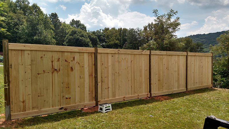 The Privacy Fence Project | Florida Fence Builders | SMITHERY Post & Plank